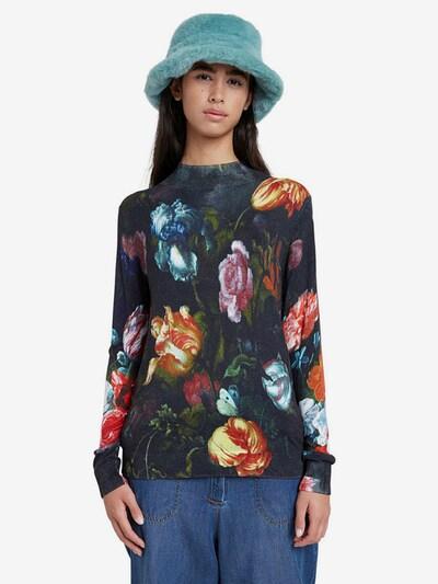 Desigual Pullover  'Treviso' in mischfarben / schwarz, Modelansicht
