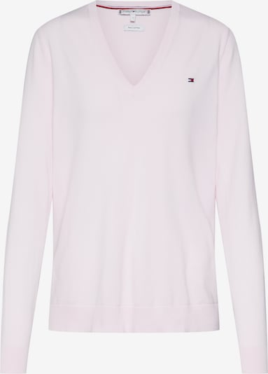TOMMY HILFIGER Pullover 'HERITAGE SWEATER' in rosa, Produktansicht
