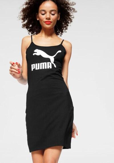 PUMA Sommerkleid in schwarz / weiß, Modelansicht