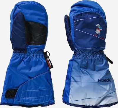 Roeckl SPORTS Handschuhe 'Fanes' in blau / hellblau / dunkelblau, Produktansicht