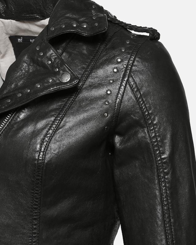 MUSTANG MUSTANG MUSTANG Lederjacke 'Taira' in schwarz  Neu in diesem Quartal 6ad08c