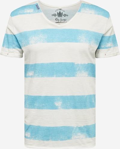 Key Largo Shirt 'MT AIRFLIGHT' in blau / offwhite, Produktansicht