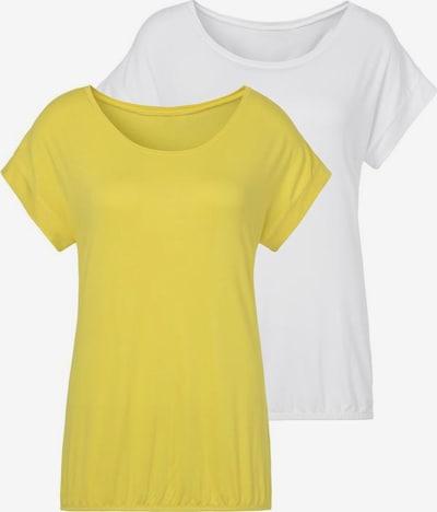 VIVANCE T-Shirt in creme / gelb, Produktansicht
