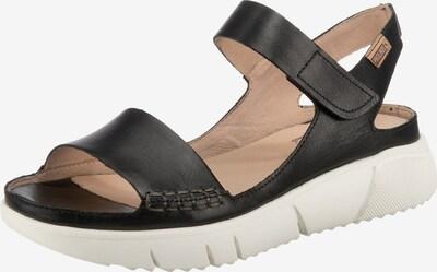 PIKOLINOS Sandalette in beige / schwarz, Produktansicht