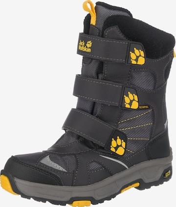 JACK WOLFSKIN Boots in Black