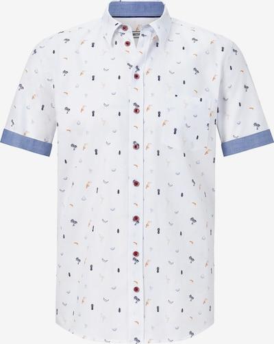 Shirtmaster Overhemd in de kleur Gemengde kleuren / Wit, Productweergave