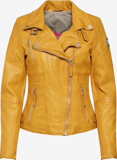 FREAKY NATION Tussenjas 'Bikerprincess' in de kleur Geel, Productweergave