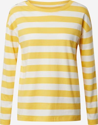 ESPRIT Sweatshirt in gelb / weiß, Produktansicht