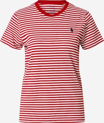 POLO RALPH LAUREN Shirt in rot / weiß, Produktansicht