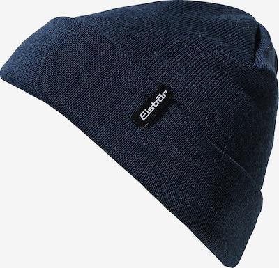 Eisbär Mütze in nachtblau: Frontalansicht