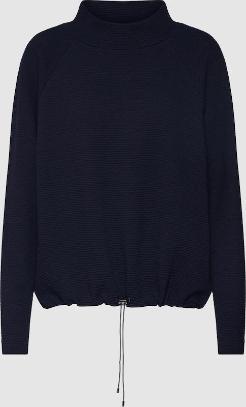 OPUS Sweatshirt 'Gulani' in blau   marine   navy  Freizeit, schlank, schlank