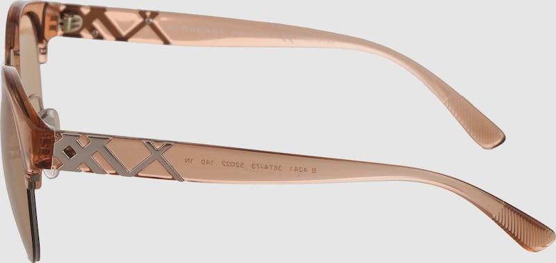 BURBERRY Sonnenbrille mit verspiegelten Gläsern