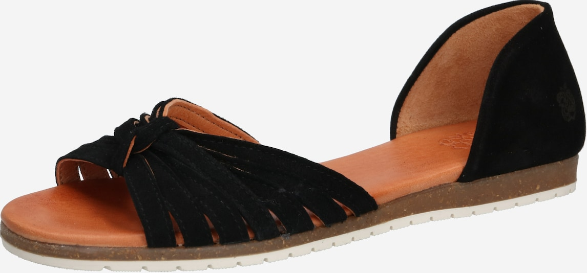 Apple of Eden Slipper 'CILLY' in schwarz, Produktansicht