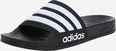 ADIDAS PERFORMANCE Beach & swim shoe 'Adilette' in black / white, Item view