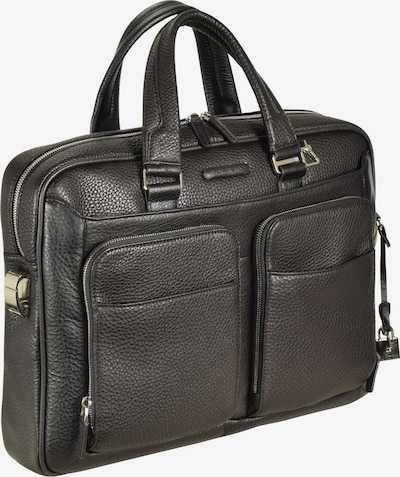 Piquadro Aktentasche in schwarz, Produktansicht