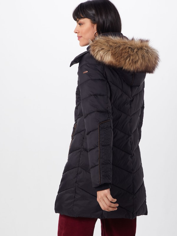 D'hiver Noir En Esprit Manteau 'thinsulate' 53ARjL4