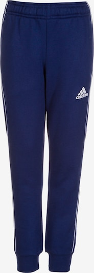 ADIDAS PERFORMANCE Sportbroek 'Core 18' in de kleur Blauw / Wit, Productweergave