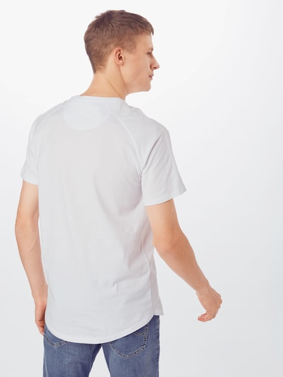 JACK & JONES T-Shirt in weiß: Rückansicht