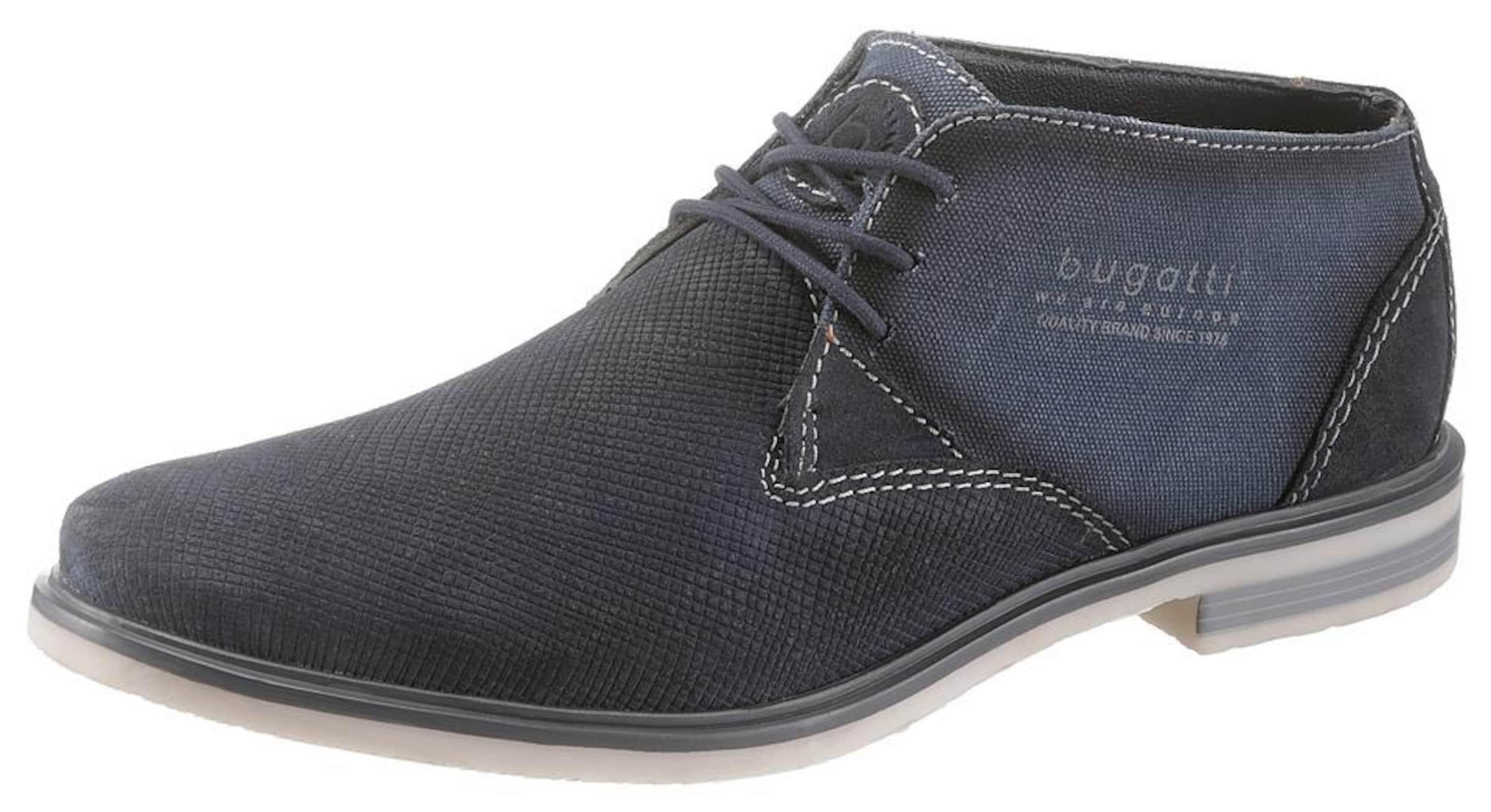 bugatti Schnürstiefelette Verschleißfeste billige Schuhe Hohe Qualität