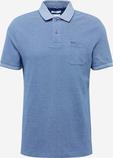 BRAX Shirt in taubenblau / blaumeliert, Produktansicht