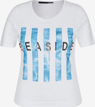 Lecomte Shirt mit Front-Print und Rundhalsausschnitt in weiß, Produktansicht