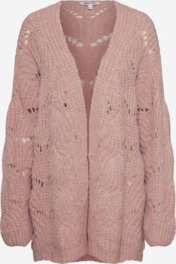 ABOUT YOU Knit cardigan 'Fiona' in rose, Item view