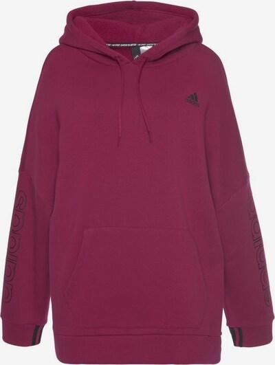 ADIDAS PERFORMANCE Sweatshirt in beere / schwarz, Produktansicht