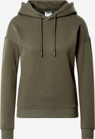 Urban Classics Sweatshirt in Groen