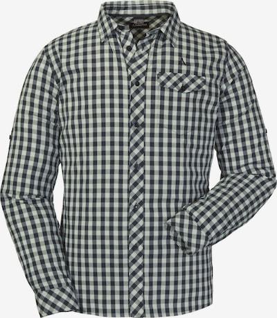 Schöffel Hemd in schwarz / weiß, Produktansicht