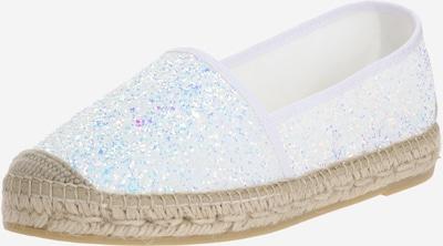 Vidorreta Espadrilky 'Glitter' - strieborná / biela, Produkt