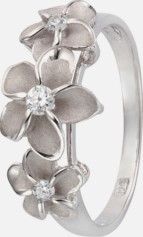 FIRETTI Ring mit Zirkonia, »Blüte«