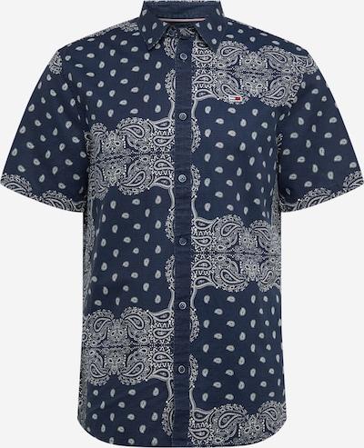Tommy Jeans Hemd in blau / weiß, Produktansicht