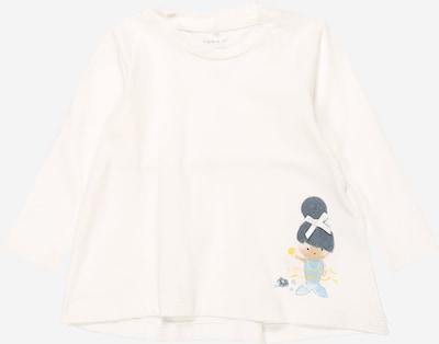 Tricou 'NBFFARIDA LS TOP' NAME IT pe alb, Vizualizare produs