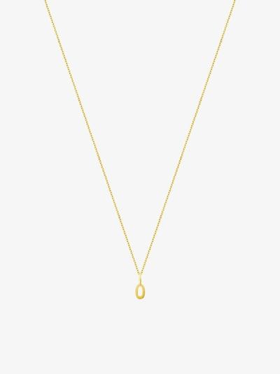 ID Fine Halskette '0' in gold, Produktansicht