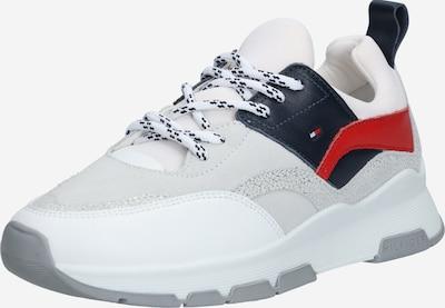 TOMMY HILFIGER Sneaker in dunkelblau / rot / weiß: Frontalansicht