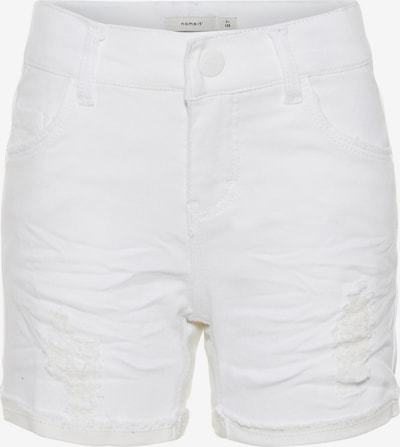 NAME IT Shorts in white denim, Produktansicht