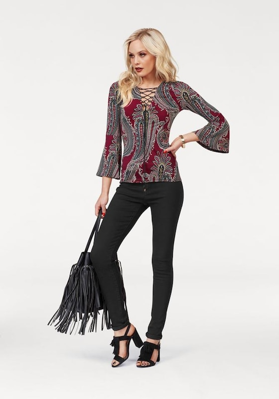 MELROSE Shirt Paisley