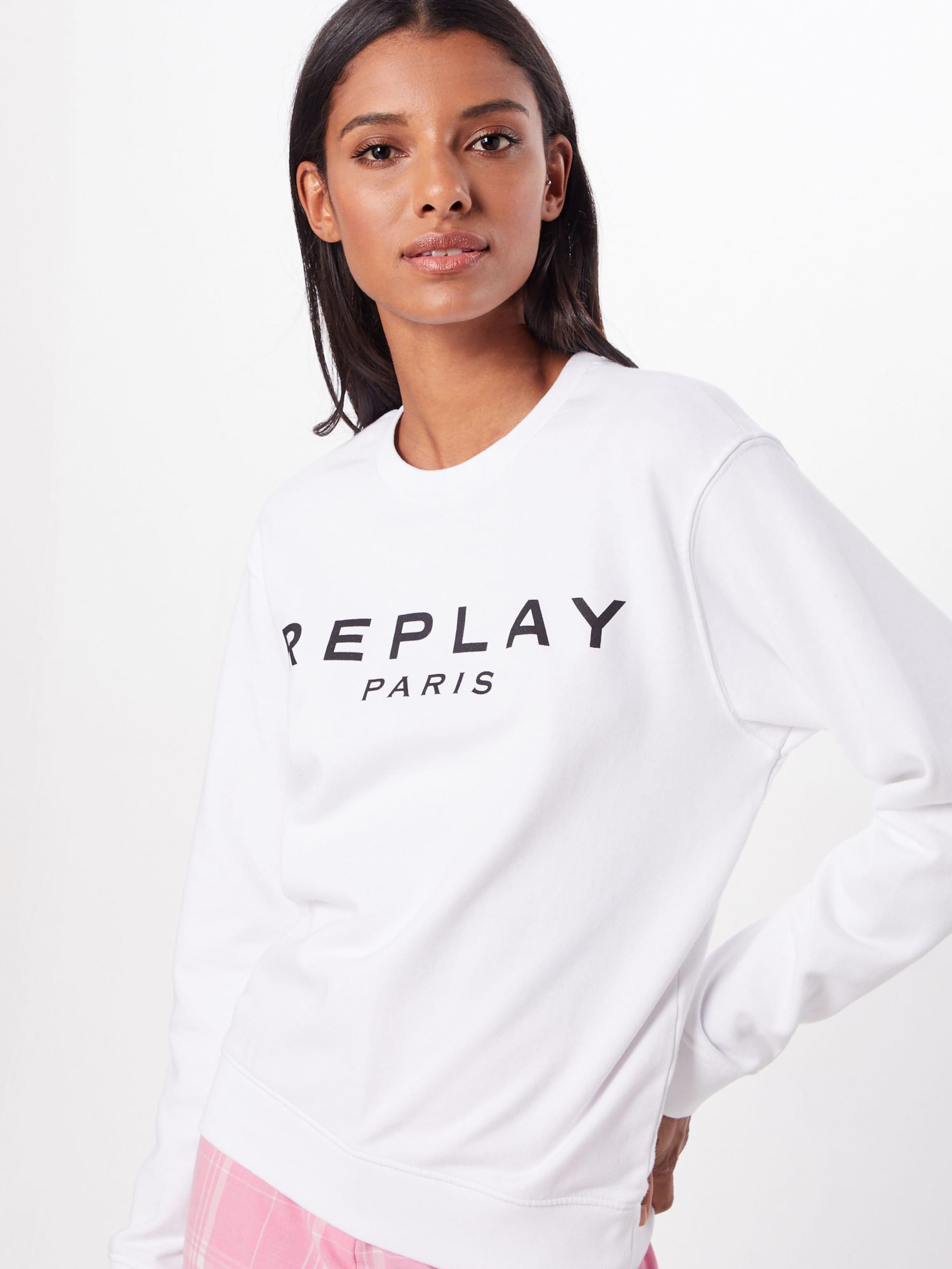 En Blanc Sweat Sweat Replay shirt Replay lPikXTwOZu