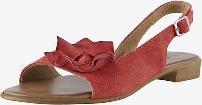 heine Sandalette in rostrot, Produktansicht