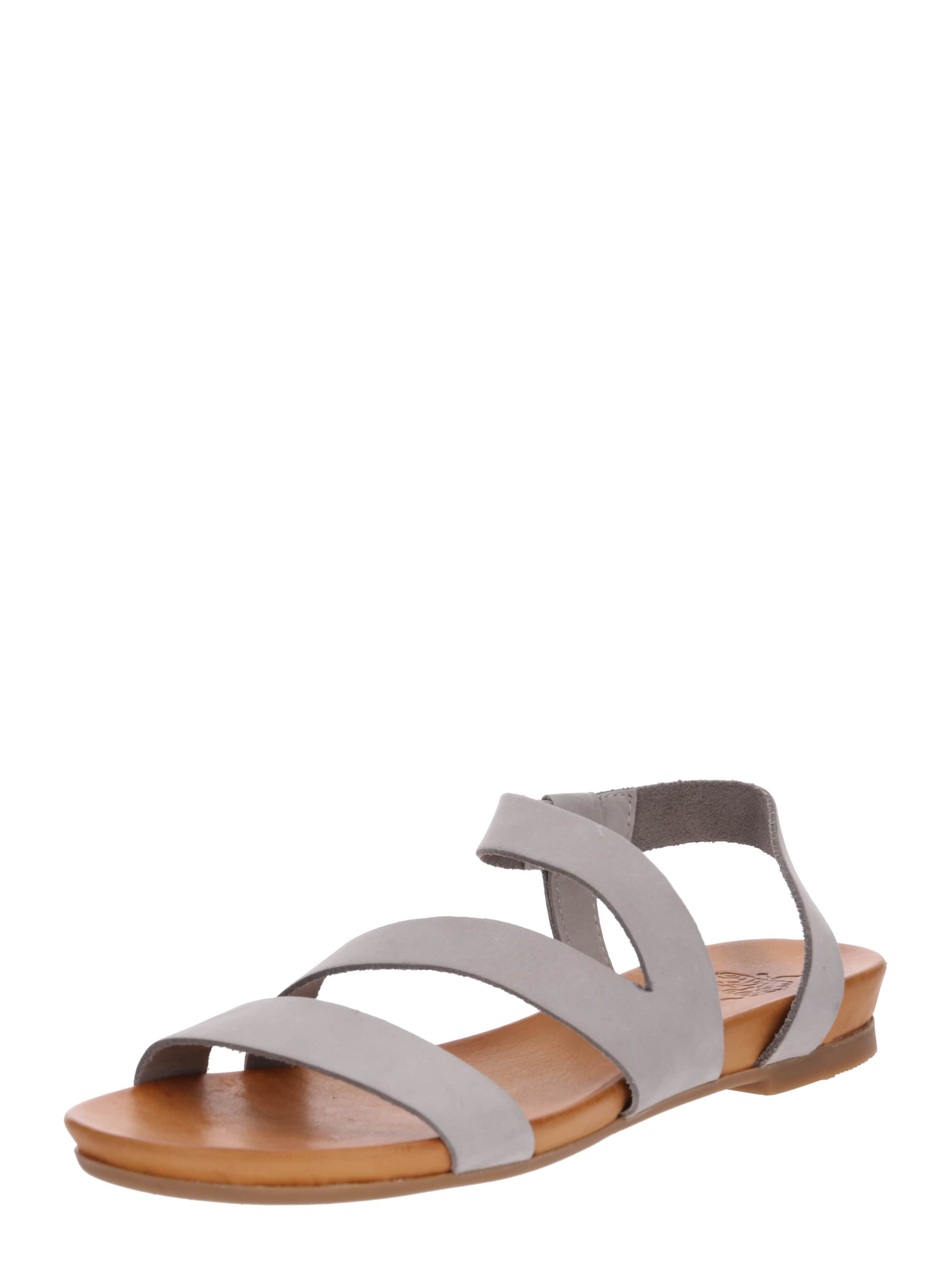 Apple of Eden Sandalen 'Dena' in beige   hellgrau