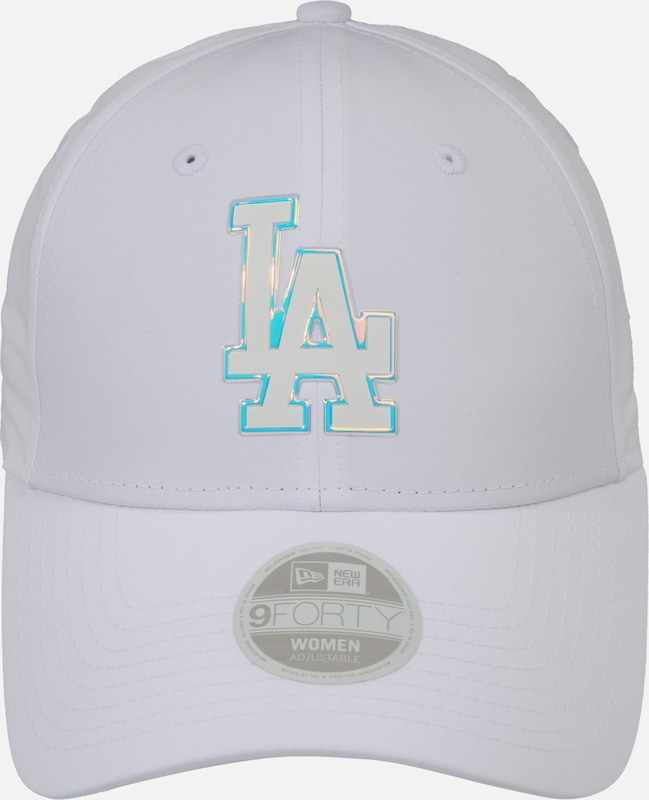 NEW ERA Čiapka 'WMNS MLB NYLON 9FORTY LOSDOD WHIIRD Los Angeles Dodgers' - biela, Produkt