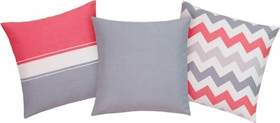 MY HOME my home Kissenhüllen in rot, Produktansicht
