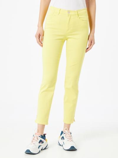 BRAX Jeans 'SHAKIRA S' in gelb, Modelansicht