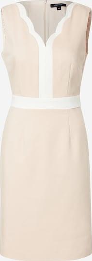 COMMA Kokerjurk in de kleur Rosé / Wit, Productweergave