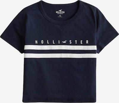 HOLLISTER Shirt in de kleur Navy / Wit, Productweergave