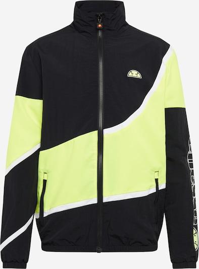 ELLESSE Jacke 'LATERNO' in gelb / schwarz, Produktansicht