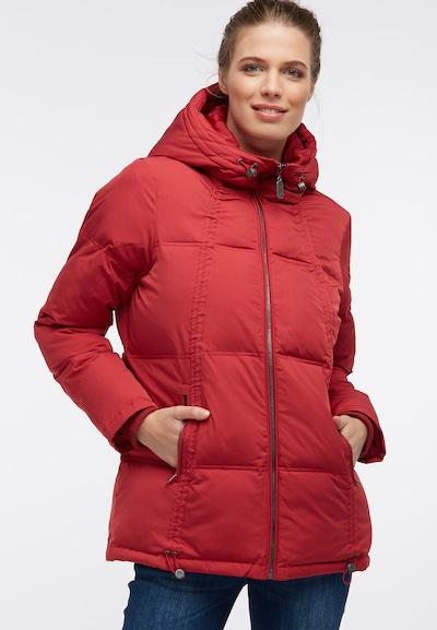 DREIMASTER Veste d'hiver en rouge: Vue de face