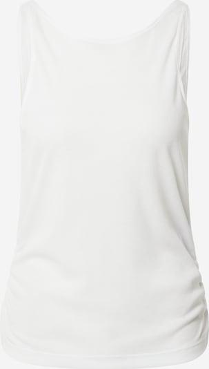 Sport top NIKE pe alb, Vizualizare produs