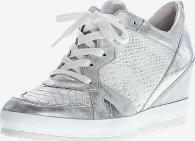 GABOR Schnürschuhe in silber / weiß, Produktansicht