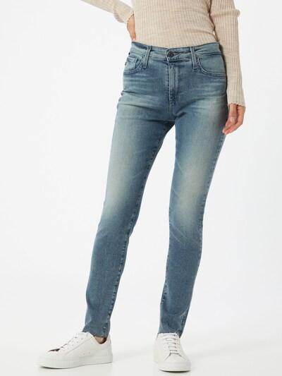 AG Jeans Jeans 'Farrah in blue denim, Modelansicht